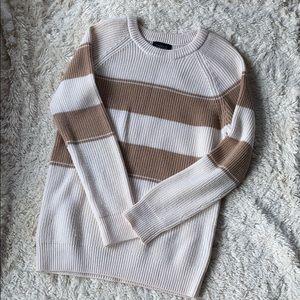 Barneys New York merino wool tunic sweater